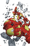 Iron Man & The Armor Wars No4 Cover: Iron Man