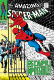 The Amazing Spider-Man No65 Cover: Spider-Man Charging