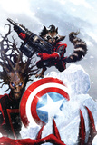 Guardians Of The Galaxy No2 Cover: Rocket Raccoon and Groot