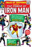 Tales Of Suspense No57 Cover: Iron Man  Hawkeye and Black Widow