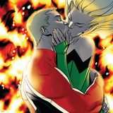 Captain Britain And MI13 No9 Cover: Captain Britain and Meggan