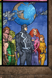 Secret Invasion: Inhumans No4 Group: Black Bolt  Medusa  Karnak  Gorgon  Crystal and Triton