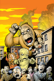Monsters: Where Monsters Dwell No1 Cover: Monstrollo  Bombu and Manoo