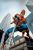 Amazing Spider-Man No.520 Cover: Spider-Man Swimming Reproduction d'art par Mike Deodato