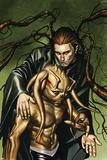 Inhumans 11 Cover: San and Jolen