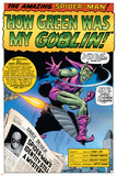 Dark Reign: The Goblin Legacy One-Shot Cover: Green Goblin and Spider-Man