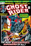 Marvel Spotlight Ghost Rider No5 Cover: Ghost Rider