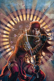 Dark Reign: Elektra No2 Cover: Elektra