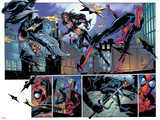 Ultimate Spider-Man No52 Group: Black Cat  Spider-Man and Elektra
