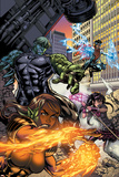 Secret Invasion: Runaways/Young Avengers No1 Cover: Hulkling and Wiccan