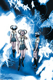 X-Men No206 Group: Stepford Cuckoos
