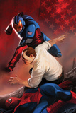 Amazing Spider-Man Presents: American Son No4 Cover: American Son Fighting