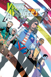 Young Avengers 8 Cover: Hawkeye  Hulkling  Loki  Marvel Boy  Miss America  Prodigy  Wiccan