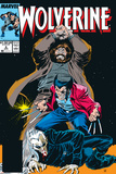 Wolverine No6 Cover: Wolverine  Roughouse and Bloodsport