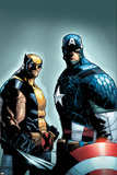A+X 9 Cover: Wolverine  Captain America