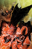 Astonishing X-Men No32 Cover: Brood  Armor and Wolverine