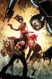 Age of Apocalypse No2 Cover: Cyclops and Others