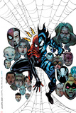 Spider-Girl: The End! No1 Cover: Spider-Girl and Mayhem