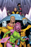 Exiles No66 Cover: Blink  Sabretooth  Mimic  Morph and Exiles