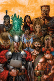 Thor & Hercules: Encyclopedia Mythologica One Shot Cover: Thor and Hercules