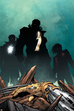 Exiles No72 Cover: Justice and Starbrand