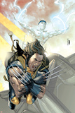 X-Men No168 Cover: Wolverine and Iceman