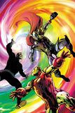 Avengers Prime No2 Cover: Iron Man  Thor  and Steve Rogers