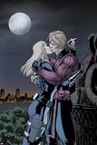 Hawkeye & Mockingbird No4: Hawkeye and Mockingbird Kissing