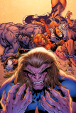 X-Men Forever No2 Cover: Sabretooth