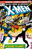 Marvel Comics Retro: The X-Men Comic Book Cover No97  Havok  My Brother-My Enemy!