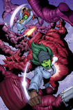 She-Hulks No3: She-Hulk and Lyra Fighting