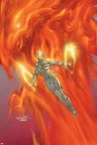 X-Treme X-Men No45 Cover: Magma and Phoenix