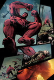 Hulk No36: Panels with Red Hulk Jumping