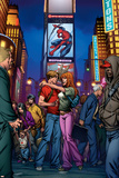 Ultimate Spider-Man Annual No3 Cover: Spider-Man  Peter Parker  and Mary Jane Watson