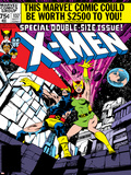 Marvel Comics Retro: The X-Men Comic Book Cover No137  Phoenix  Colossus