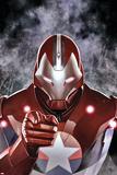 Ultimate Comics Ultimates 19 Cover: Iron Patriot