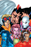 Exiles No1 Cover: Blink  Morph  Thunderbird  Mimic  Magnus and Nocturne