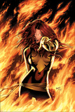X-Men: Phoenix - Endsong No.1 Cover: Phoenix, Grey and Jean Reproduction d'art par Greg Land