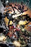 New Avengers No22: Skaar Fighting