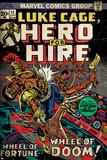 Marvel Comics Retro: Luke Cage  Hero for Hire Comic Book Cover No11 (aged)