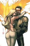 New X-Men No156 Cover: Cyclops  Emma Frost and Phoenix