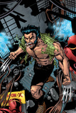 Weapon X No16 Cover: Logan and Wolverine