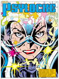 The Uncanny X-Men No213 Headshot: Psylocke and Cerebro