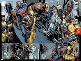 Uncanny X-Men No494 Group: Wolverine  Bishop  Colossus  X-23 and Hepzibah