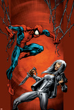 Ultimate Spider-Man No88 Cover: Spider-Man and Silver Sable