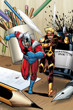 Ant-Man & Wasp No1 Cover: Ant-Man and Wasp Running