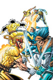 X-Force Volume 2 No3 Cover: Shatterstar  Sunspot  Cable and X-Force