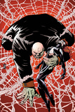 Spider-Island: The Amazing Spider-Girl No2 Cover: Kingpin Crawling with Spider-Girl