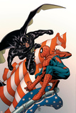 Marvel Knights Spider-Man No18 Cover: Justice  Spider-Man  and Ethan Edwards