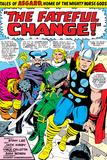 Marvel Comics Retro: Mighty Thor Comic Panel  Tales of Asgard  the Fateful Change!